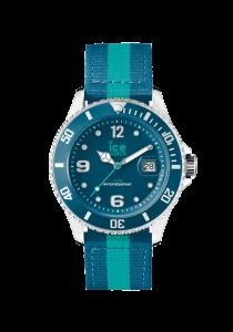 Ice Watch Polo, PO.PTE.U.N.14, Edelstahl, Nylonband, grün, blau